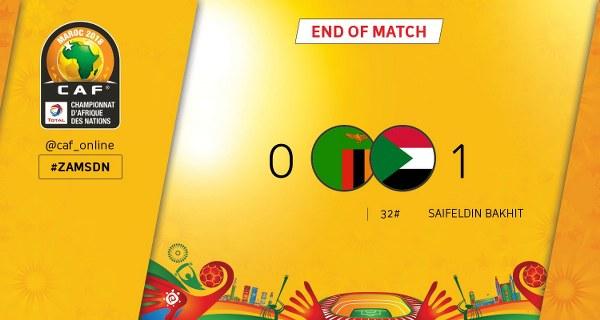 CHAN: Sudan Edge Zambia, Book Semi-Final Spot