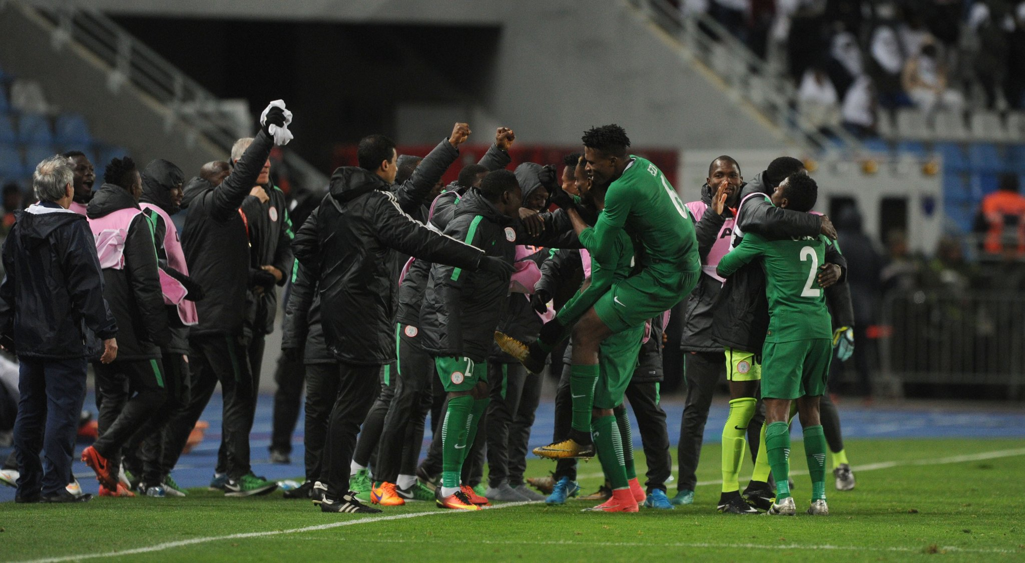 Rohr Praises Home Eagles, Ezenwa After CHAN Victory Over Angola