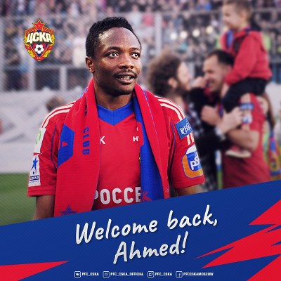 Musa Returns To CSKA Moscow, Included In Europa League Squad
