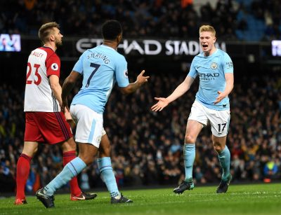 Man City players butchered by poor tackles - Sterling