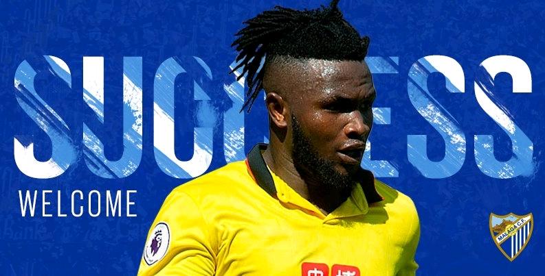 Isaac Success Joins Ideye At Malaga On Loan From Watford