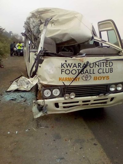 kwara united-road-accident-npfl-completesportsnigeria.com