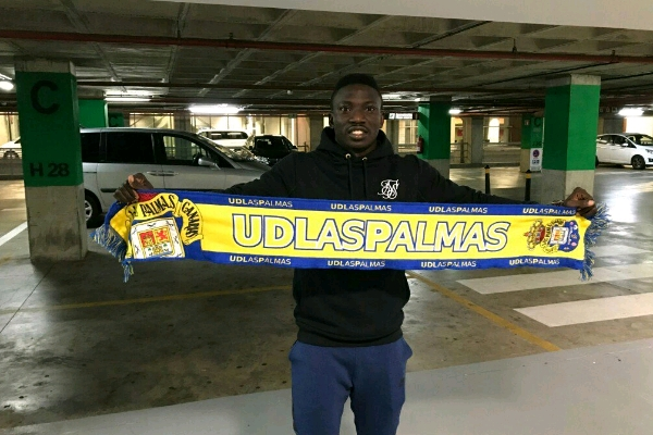 Etebo Joins Las Palmas On Loan From Feirense