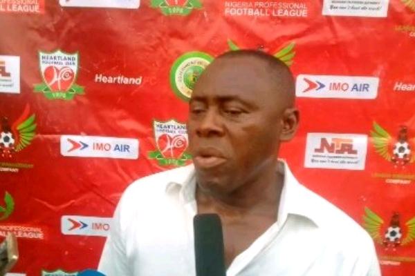 Heartland Coach, Madu: No Mercy For Rangers In Owerri