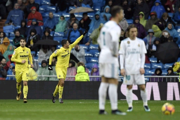 Villarreal Stun Struggling Real Madrid At Bernabeu