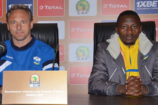 CHAN 2018: Rwanda Captain, Coach Confident Ahead Group C Clash  Vs Home Eagles