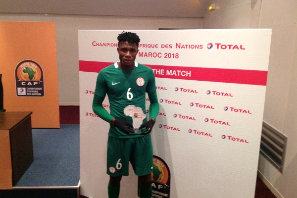 Home Eagles' Eze Named Man Of The Match Vs Libya
