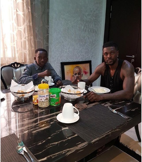 Togo Star Emmanuel Adebayor Adopts Late Older Brother's Son