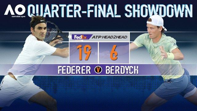 Australian Open Day 10 Schedule: Federer v Berdych & Halep v Pliskova