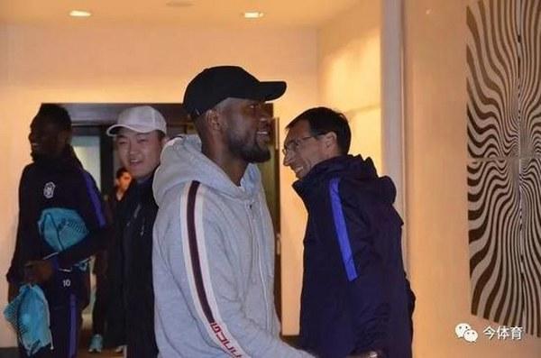 Ideye Bids Farewell To Mikel, Tianjin Teammates, Set For Malaga Move
