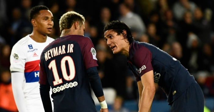 PSG Fans Angry With Neymar For Denying Cavani Chance To Make Club History