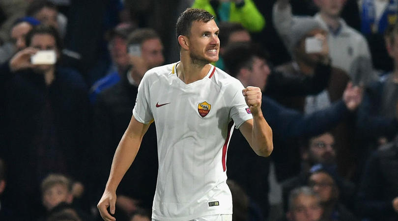 Agent: Conte Likes Dzeko But No Chelsea Offer Yet