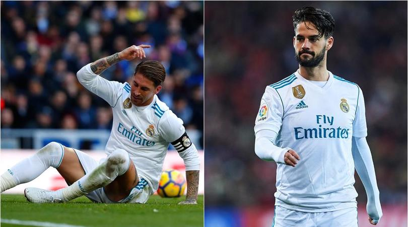 More Headache For Zidane As Troubled Real Madrid Lose Isco, Ramos To Injuries