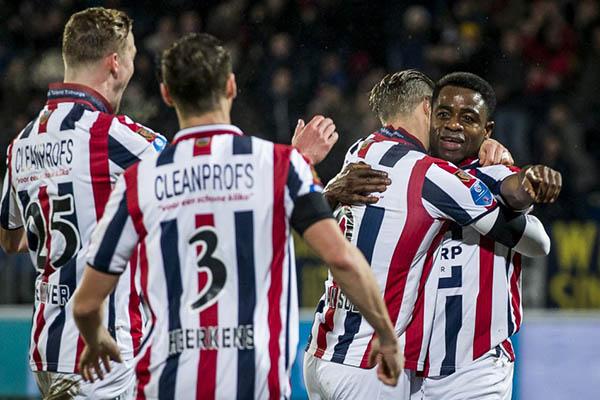 Ogbeche Fires Willem II Past Roda Into Dutch Cup Semi-Finals