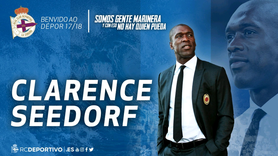 Deportivo La Coruna Appoint Seedorf As New Manager