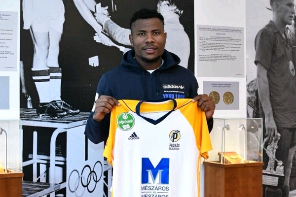 Nigerian Striker Henty Joins Hungary's Puskas Akademia On Loan