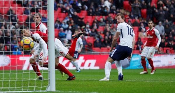 Iwobi In Action As Kane Fires Dominant Tottenham Past Arsenal
