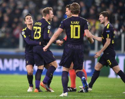 UCL: Spurs Claim Comeback Draw At Juventus, Man City Destroy Basel