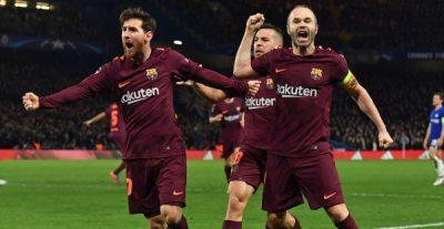 UCL: Moses Shines As Messi Ends Scoreless Run Vs Chelsea; Bayern Destroy Besiktas