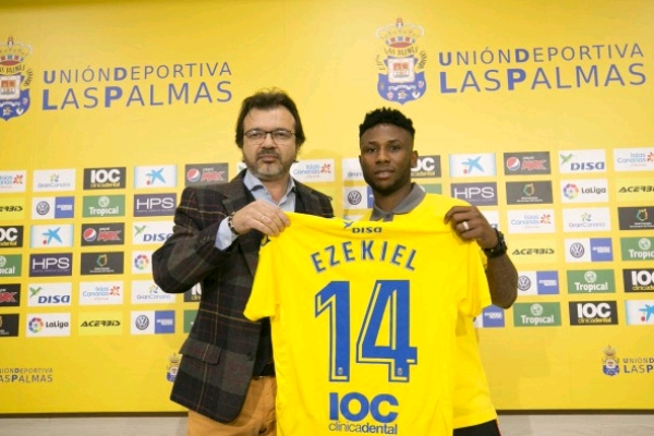 "Ezekiel Eager To Play In ""World's Best League"" With Las Palmas"