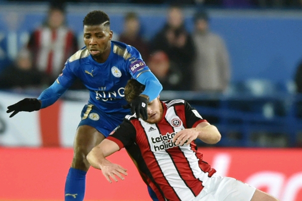 Image result for Leicester City 1-0 Sheffield United FA Cup 2018