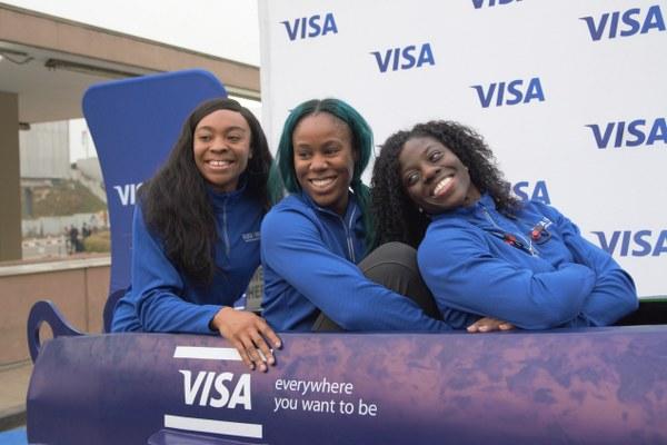 Nigeria's Historic Winter Olympics Women's Bobsled Team Land In Lagos