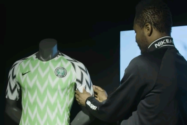 Image result for Nigeria's Russia 2018 World Cup Jersey