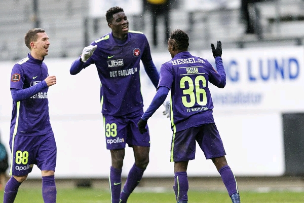 Onuachu, Onyeka Score As Midtjylland Win, Stay Top In Denmark