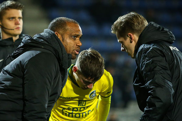 Oliseh Eager To End Poor Fortuna Sittard Run, Step Up Promotion Bid