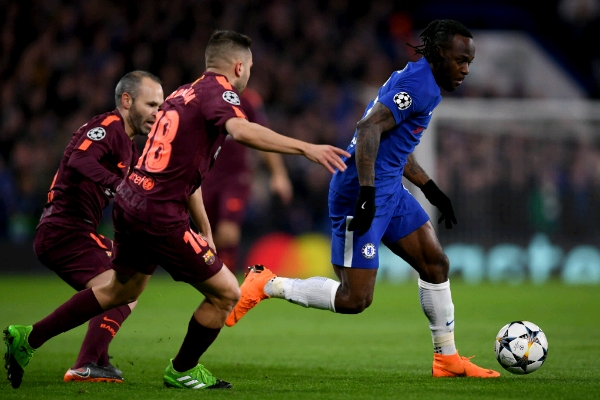 Amuneke: Chelsea Can Still Beat Barca To UCL Q-Final Spot