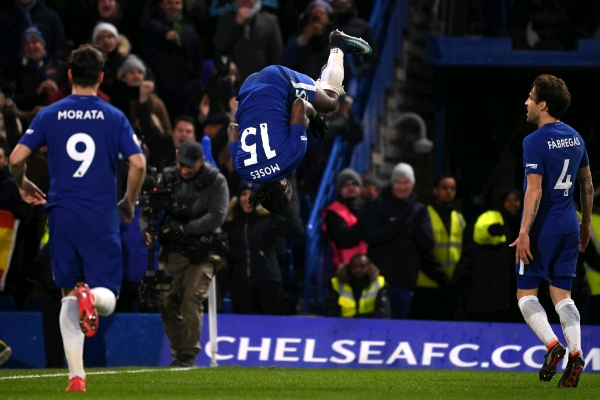 Moses On Target, Hazard Stars As Chelsea Dismiss West Brom
