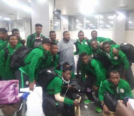 Home Eagles Back In Nigeria Via MMIA Lagos,  Set For Presidential Reception