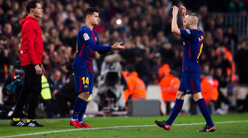 Coutinho: Iniesta Is A Genius But Messi Gets Better Everyday