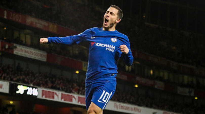 Chelsea forward Eden Hazard hints at future move to Real Madrid