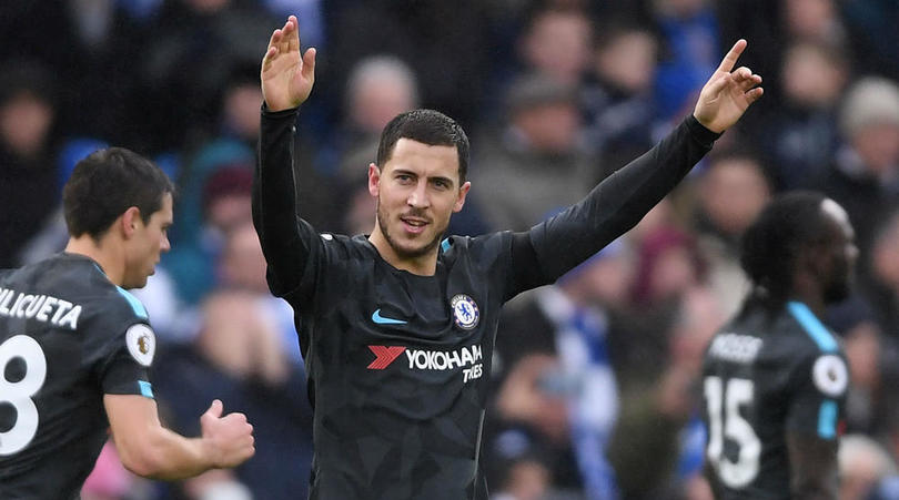 Hazard: I Can't Say No To Real Madrid But I'm Happy At Chelsea