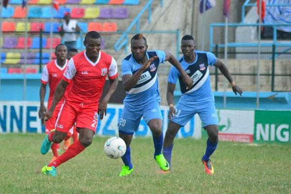 NPFL: Lokosa Hits Goal No.10 As Pillars Go Top, Lobi Stun Heartland
