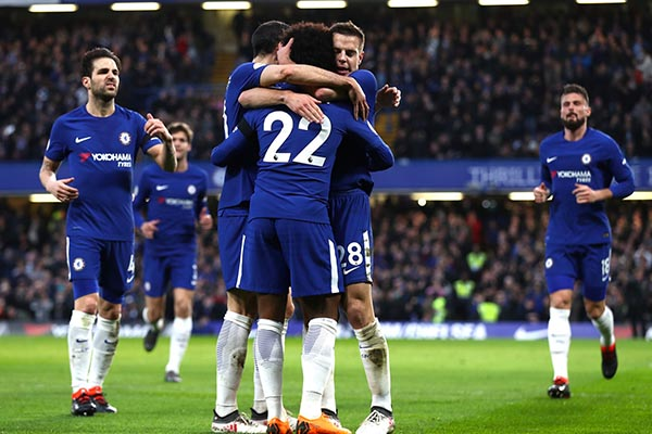 "Moses Hails Chelsea Colleagues For ""Great Win"" Vs Crystal Palace"