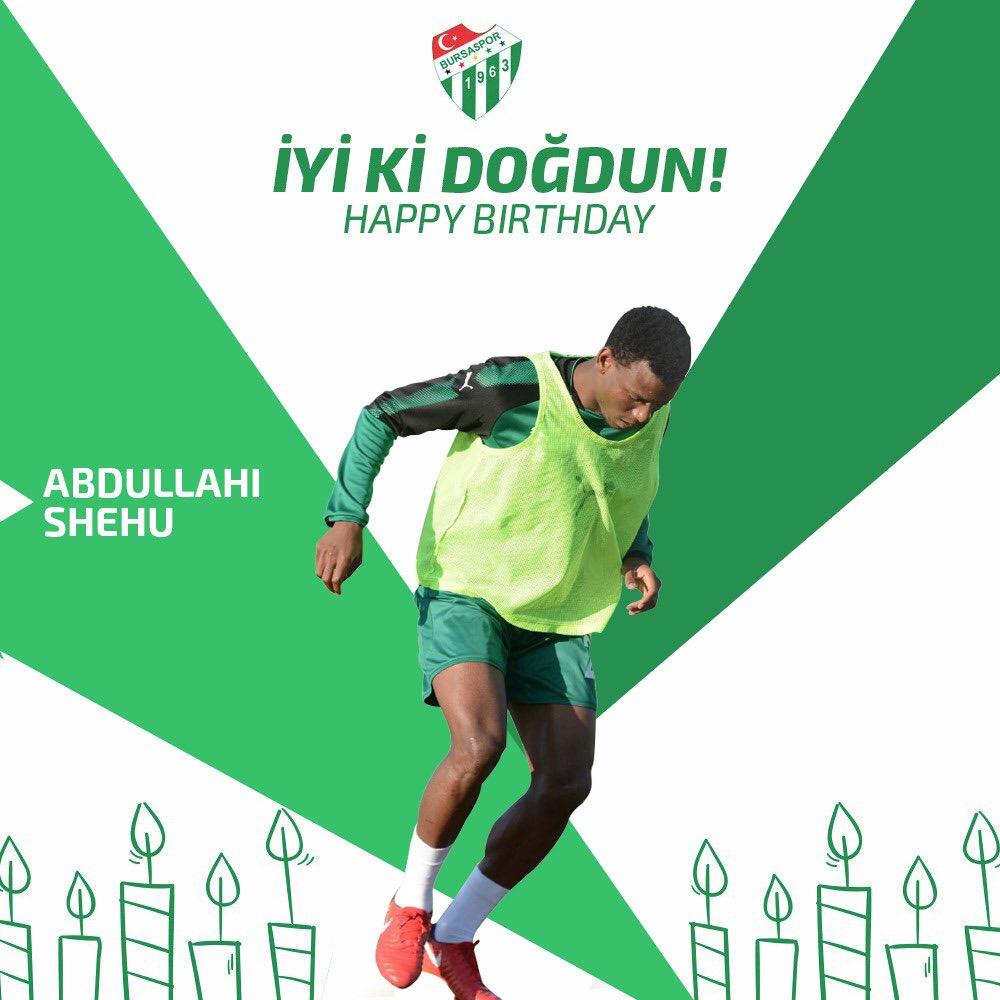 NFF, Bursaspor Celebrate Shehu Abdullahi At 25