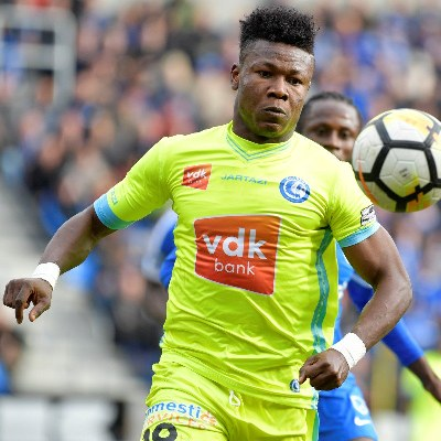 In-Form Kalu Upbeat About KAA Gent's Belgian Title Chances