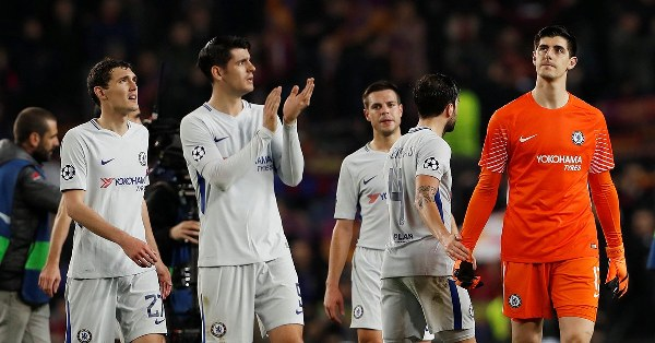 Champions League: Chelsea fans 'hurt' at Nou Camp before Barcelona game