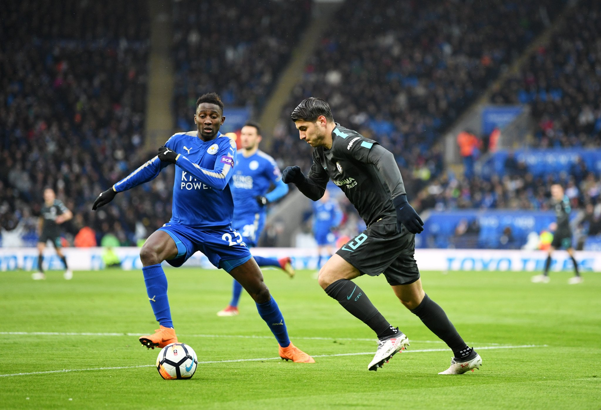 FA Cup: Moses Overcomes Iheanacho, Ndidi As Chelsea Advance, To Face Southampton; United Draw Spurs