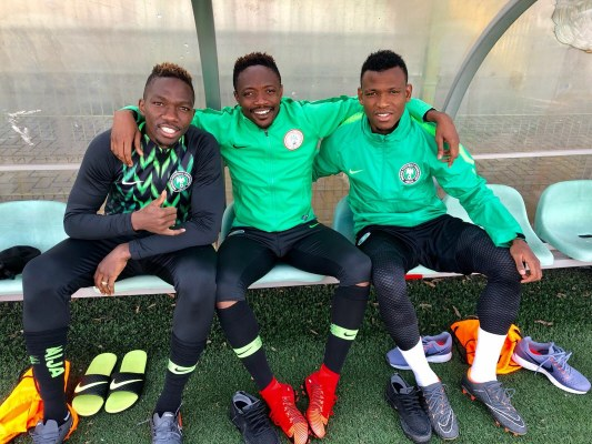 """Abdullahi, Eze Thrilled To Be Part Of """"Talented"""" Super Eagles Squad"""