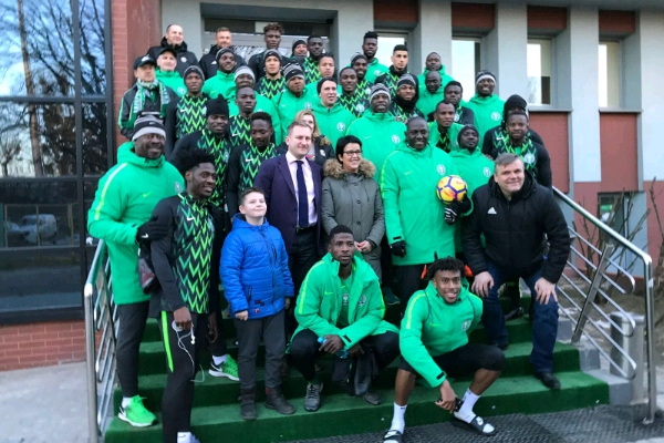 Super Eagles thrash Poland 1-0
