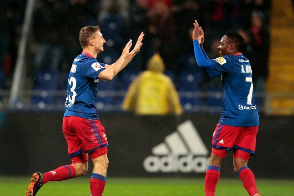 Musa Bags Two Assists As CSKA Moscow Outscore Idowu's Amkar Perm