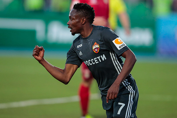 Musa On Target, Igboun In Action As CSKA Moscow Hold UFA
