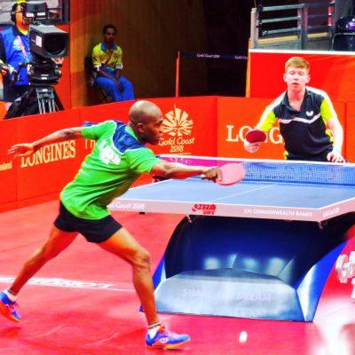 Abiodun Wins, Qualifies For Men's Table Tennis Singles Round Of 32