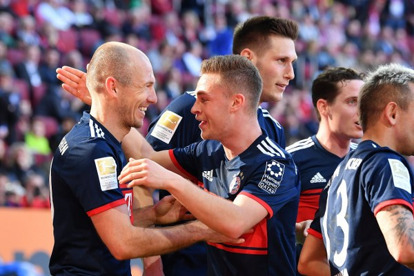 Bayern Thrash Augsburg, Clinch Sixth Straight BundesligaTitle