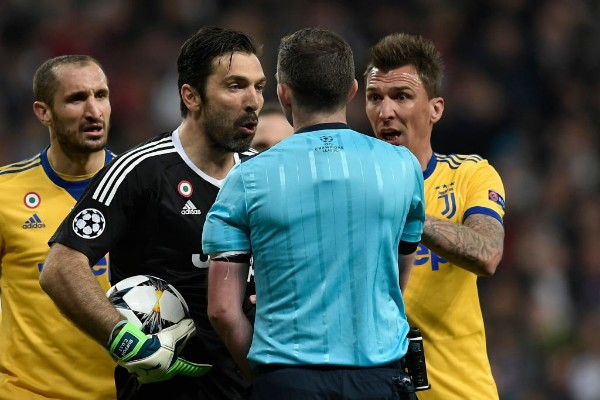 Buffon: Ref Oliver Has No Heart In His Chest