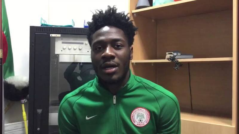 "Aina Happy To Choose Nigeria Over England, Eyes World Cup ""Achievement"""