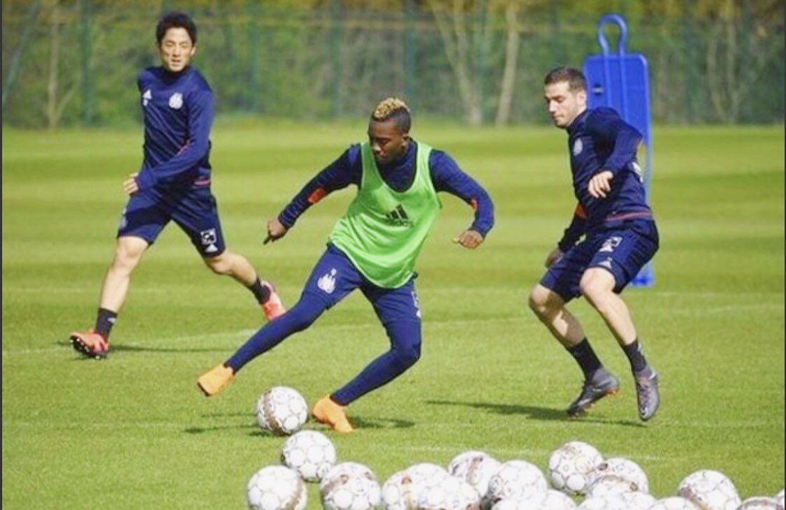 Excited Onyekuru Returns To Full Training With Anderlecht